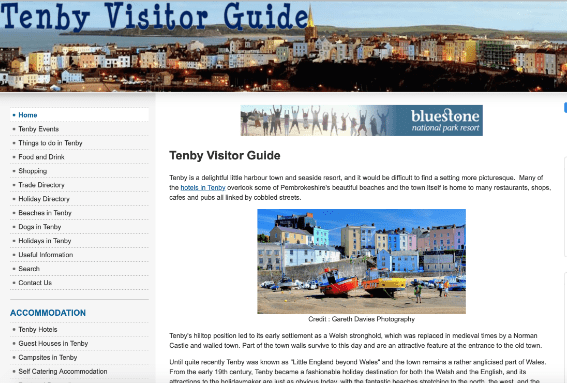 Tenby Visitor Guide